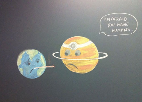 Humans as parasites
